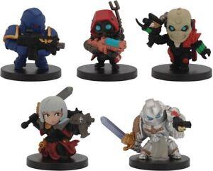 Bandai Warhammer Chibi Complete Set Marine Grey Knight Sister Skitarii Eversor