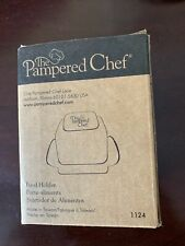 Pampered Chef Food Holder #1124 New in Box for Microplane Grater Coarse and fine