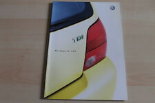 97836) VW Lupo 3L TDI Prospekt 04/2002