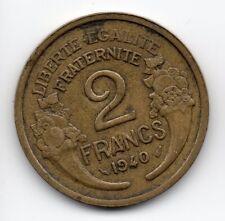 France - Frankrijk - 2 Franc 1940