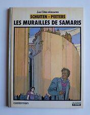 Schuiten - Peeters LES MURAILLES DE SAMARIS Casterman EO 1983