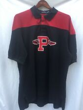 $145 Men Polo Ralph Lauren Gothic P Wing Classic Fit Mesh Rugby Shirt Big Tall