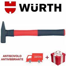 Martello da Fabbro Würth Professionale Antiscivolo Antivibbrante 1 Kg e OMAGGIO