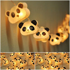 Handmade White Cutie Panda mulberry paper Lanterns for Kid party decoration