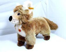 Steiff  070204   Fuchs, stehend   Fuzzy  40 cm   mit Fahne und Knopf