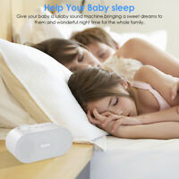 White Noise Machine Sleep Sound Machine Soothing Sounds Machine Sound Therapy