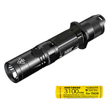 NITECORE P12GTS 1800 Lumen LED Tactical Flashlight with Rechargeable Battery