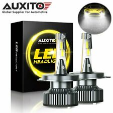 AUXITO H4 9003 HB2 LED Bright Headlight Bulb High Low Beam 6500K 16000LM CANBUS
