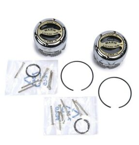 New Warn Manual Locking Hubs 20990 - 4WD - Ford Chevy Dodge Jeep