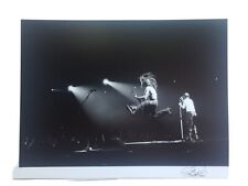 Ozzy Osbourne Black Sabbath Live Concert Photo B&W 11x14 Signed By Photographer