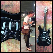 GFA American Rock Band * THE DANDY WARHOLS * Signed Electric Guitar AD1 COA