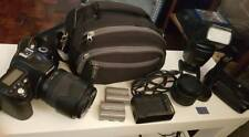 Nikon D90 COMPLETE PACKAGE WITH 2 LENS AND EXTERNAL FLASH