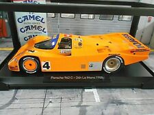 Porsche 962 C 956 II Le Mans 1988 #4 Brun Lechner Reuter Cam el SP Norev 1:18