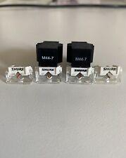 2x Shure M44-7 cartridge and 4x n44-7 Stylus