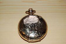 Reloj De Bolsillo Hermoso De Oro Lleno 18S Rockford grado 835 Completo Cazador en muy buena condición/Gwo.