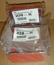New listing 2 Cooper Wheelock 10B-R Indoor Outdoor Back Box Red Fire Speaker Outlet 105046