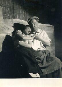 🌓 RARE photo argentique HARRY BAUR ORANE DEMAZIS PAGNOL Fanny Studio Lipnitzki