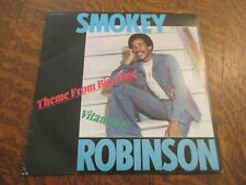 45 tours SMOKEY ROBINSON theme from big time