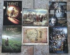 The Hobbit An Unexpected Journey Postcard set of 6 RARE
