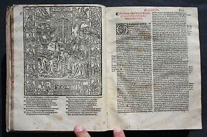 DECRETUM GRATIANI CUM GLOSSIS,YOLANDE BONHOMME, PARIS,1542,HOLZSCHNITTE,RAR