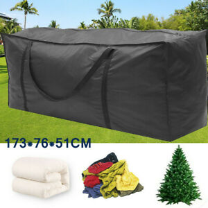 Garden Furniture Cushion Storage Bag Outdoor Waterproof Patio Seat Cushion Cover