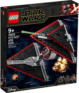 75272 Lego Star Wars Sith TIE Fighter Building Set with Minifigs New Boxed