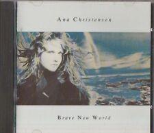 C.D.MUSIC F212   ANA CHRISTENSEN : BRAVE NEW WORLD    CD