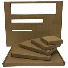 100 DL Boxes RM Large Letter Postal Cardboard Shipping Mailing Packaging Box