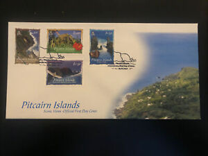 Pitcairn Islands 2004, FDC, Scenic Views, Excellent Condition