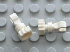 2 x LEGO minifig Skeleton leg 6266 / Set 5986 8813 6079 6091 6046 6098 6097 5988