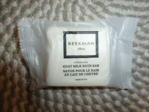 BEEKMAN 1802~~FRESH AIR~~GOAT MILK BATH BAR 2 OZ NIP