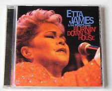 ETTA JAMES . BURNIN' DOWN THE HOUSE . CD