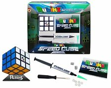 Rubik's Speed Cube Pro Pack Game Lube Injector Zero Pop Rubix Competition Cube