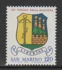 San Marino 1979 14° torneo della balestra Mnh