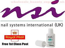 NSI Nail Glue - Polybond for Acrylic / Gel Nails 7.4ml Brush On Tip Adhesive