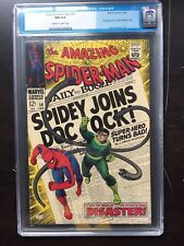AMAZING SPIDER-MAN #56 CGC NM 9.4; OW-W; 1st app. Capt. Stacy!
