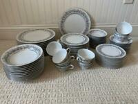 SANGO china FLORENTINE 2271 pattern 84-piece SET SERVICE for 12