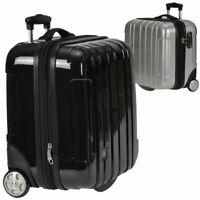Hartschalen Business Laptop Piloten Trolley Koffer Weekender TSA Notebookfach
