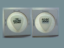 Rare! THE ROLLING STONES AC/DC 2003 TOUR GUITAR PICK  AC / DC