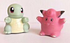 Pokemon deslizadores figuras-Roller Ball tipo-Clefairy y Squirtle
