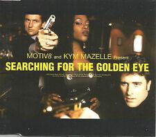 MOTIV 8 & KYM MAZELLE Searching for the Golden Eye MIXES & DUB CD single SEALED