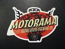 BARRELHOUSE BREWING Paso Robles California Motorama STICKER craft beer brewery
