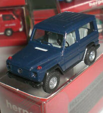 HERPA 2085 MINIATURE JEEP MERCEDES BENZ G 300 GE CAR MODELISM SCALE 1:87 HO NEUF