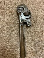 "Vtg Trimo Pipe Wrench 10""/USA"