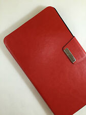 "FUNDA CARCASA PARA TABLET ALCATEL ONE TOUCH POP 7 7"" PULGADAS CIERRE IMAN ROJO"