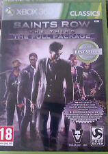 "JEU XBOX 360 ""SAINT ROW : The Third"" (THE FULL PACKAGE)  NEUF SOUS BLISTER"