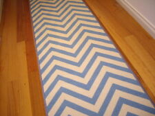 Hallway Runner Hall Runner Rug Modern Blue 3 Metres Long FREE DELIVERY 67543