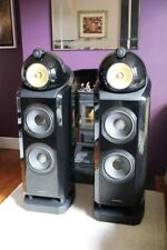 Bowers and Wilkins 802D2 speakers in Gloss Black, MINT from Krescendo HiFi