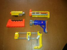 Nerf Gun Accessories Lot - stocks,clip, and site