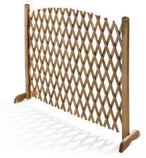 VERDELOOK Griglia Flexy grigliato in legno estensibile fino 120cm e alta 150cm
